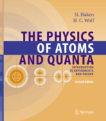 Portada del The Physics of atoms and quanta (de Haken, Hermann, Wolf, Hans Christoph)