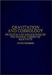 Portada del Gravitation and Cosmology: Principles and Applications of the General Theory of Relativity (de S.Weinberg)